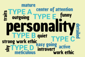 Personality type traits a arrow right